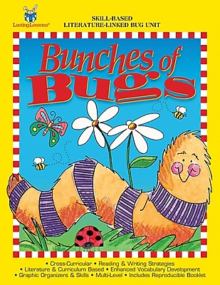 Barker Creek Bunches of Bugs Activity Book 4 9 Age
