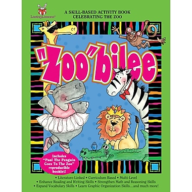 Barker Creek Zoobilee Activity Book, 4 - 9 Age