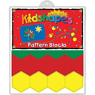 Magnetic Kidshapes™ Pattern Block, 4+ Age