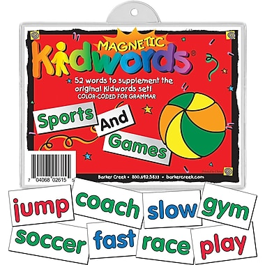 Magnetic Kidwords® Sport and Game, 4+ Age