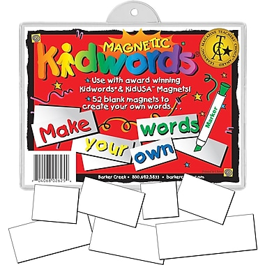 Magnetic Kidwords® Make Your Own Word, 3+ Age