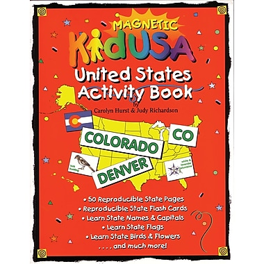 KidUSA™ Activity Book, 7+ Age