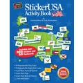 StickerUSA™ Activity Book, 7+ Age
