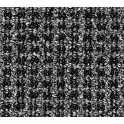 Oxford™ Wiper Mat, Black/Gray, 72 L x 48 W
