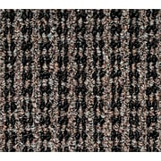 "Oxford™ Wiper Mat, Black/Brown, 72"" L x 48"" W"