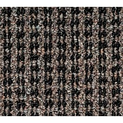 """Oxford™ Elite Wiper/Scraper Mat, Black/Brown, 72"""" L x 48"""" W"""