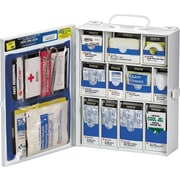 SmartCompliance™ Medium First Aid Kit For Restaurant Cabinet, 136 Pieces, OSHA Compliant, Metal Case