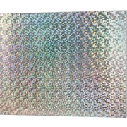 Holographic Silver Foamboard with Guide-Line 20X30