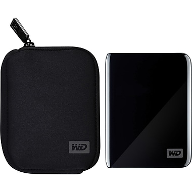 WD My Passport Soft Neoprene Carrying Case (Black)