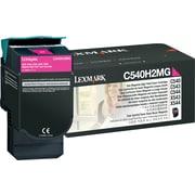 Lexmark™ - Cartouche de toner magenta C540H2MG, haut rendement