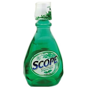 Scope Mouthwash, Original Mint, 33.8 oz., 6/Case