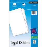 Avery(R) Premium Collated Legal Dividers Avery Style 11373, Legal Size, 26-50 & Table of Contents Tab Set