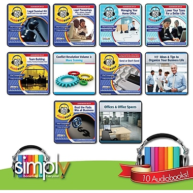 Business and Personal Tools Audio Books Bundle - Download