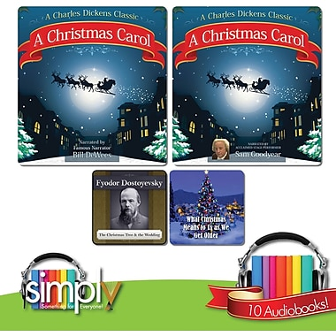 Christmas Carol & 10 Other Dickens Christmas Stories Audiobook Collection [Download]