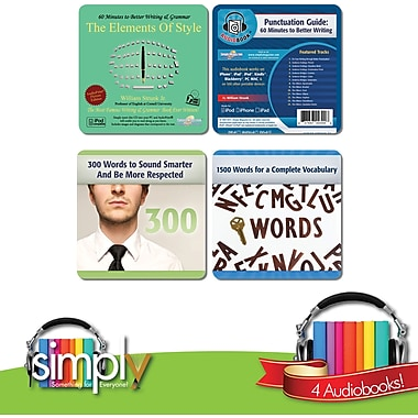Writing and Language Audio Books Bundle - Download