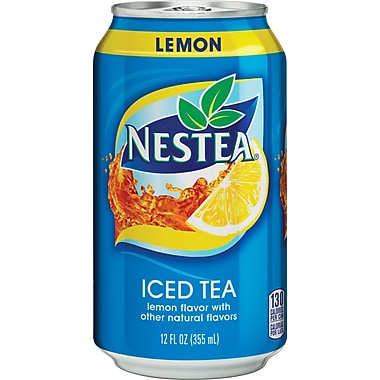 Nestea® Iced Tea, Lemon, 12 oz. Cans, 24/Pack