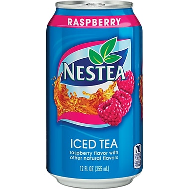 Nestea® Iced Tea, Raspberry 12-ounce cans (Total of 24)