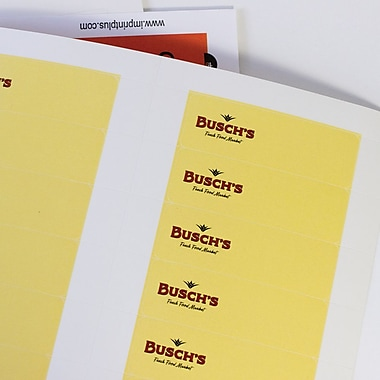 The Mighty Badge™ Insert Sheet Pack for Any Printer, White