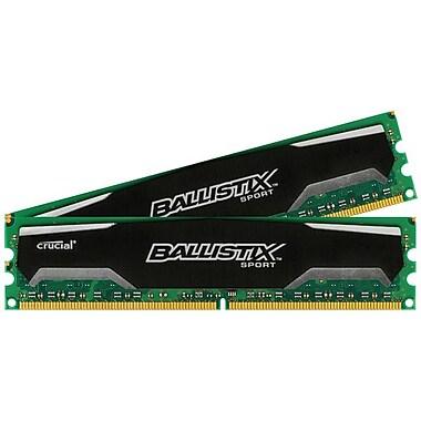 Crucial Technology – Mémoire d'ordinateur de bureauBLS2KIT2G2D80EBS1S00 DDR2 (DIMM à 240 broches) de 4 Go