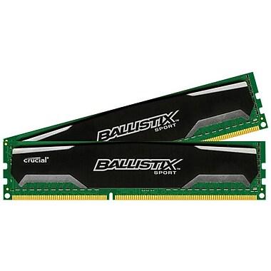 Crucial Ballistix Sport 8GB DDR3 (240-Pin SDRAM) DDR3 1600 (PC3 12800) Universal Desktop Memory