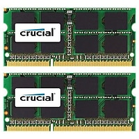 Crucial CT2K8G3S160BM 16GB (2 x 8GB) SODIMM DDR3 Laptop Memory for Mac