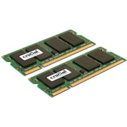 Crucial 8GB (2 x 4GB) DDR2 (200-Pin SO-DIMM) DDR2 800 (PC2 6400) Universal Laptop Memory