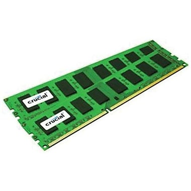 Crucial Technology CT2KIT51264BA160B DDR3 (240-Pin DIMM) Server Memory, 8GB