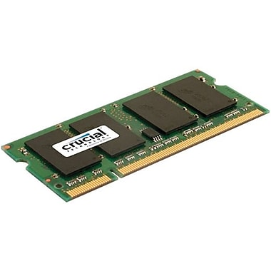 Crucial Technology CT51264AC667 DDR2 (200-Pin SO-DIMM) Laptop Memory, 4GB