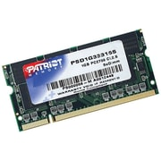 Patriot Signature 1GB (1 x 1GB) DDR (200-Pin SO-DIMM) DDR 333 (PC 2700) Universal Laptop Memory