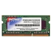 Patriot Signature 4GB (1 x 4GB) DDR3 (204-Pin SO-DIMM) DDR3 1333 (PC3 10600) Universal Laptop Memory