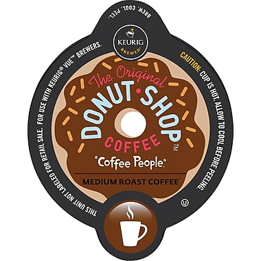 Keurig Vue Pack Coffee People Original Donut Shop, Regular, 16/Pack