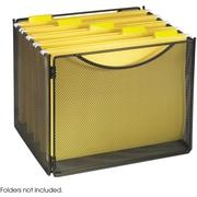Safco® Onyx™ 2170 Onyx™ Mesh Desktop Box File, Black