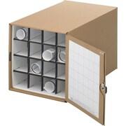 Safco® 3051 Roll File Corrugated Roll File, Tropic Sand, 16 Compartment