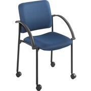 Safco® Moto™ 4184 Stacking Chair, Blue
