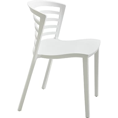Safco® Entourage™ 4359 Entourage Stacking Chair, White