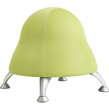 Safco Runtz Polyester Fabric Ball Chair, Armless, Sour Apple