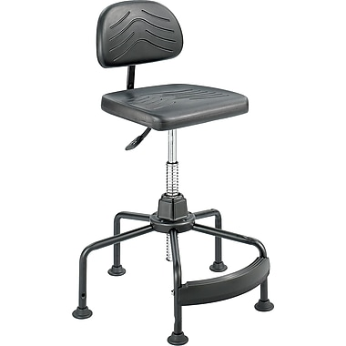 Safco® TaskMaster® 5117 Polyurethane Economy Industrial Chair, Black