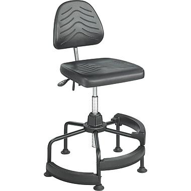 Safco® TaskMaster® 5120 Polyurethane Deluxe Industrial Chair, Black