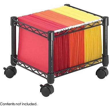 Safco® 5220 Mini File Cart, Black