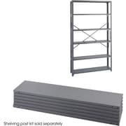 "Safco® 6251 Steel Industrial Shelf Pack, 48""(W) x 12""(D), Gray"