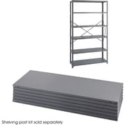 "Safco® 6253 Steel Industrial Shelf Pack, 48""(W) x 18""(D), Gray"