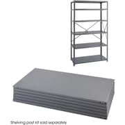 "Safco® 6254 Steel Industrial Shelf Pack, 36""(W) x 24""(D), Gray"