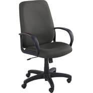 Safco® Poise® 6300 Executive High Back Seating, Black