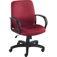Safco® Poise® 6301 Executive Mid Back Seating, Burgundy