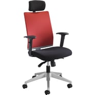 Safco® Tez™ 7030 Manager Chair With Headrest, Tabasco