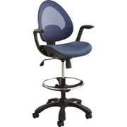 Safco® 7066 Helix Extended Height Chair, Blue