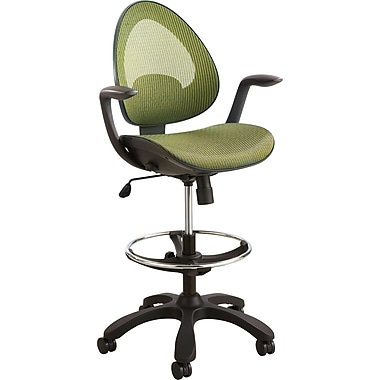 Safco® 7066 Helix Extended Height Chair, Green