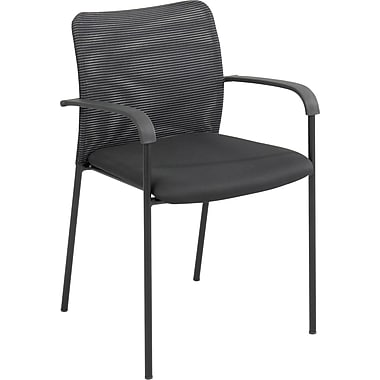 Safco® Vue™ 7092 Guest Chair, Black