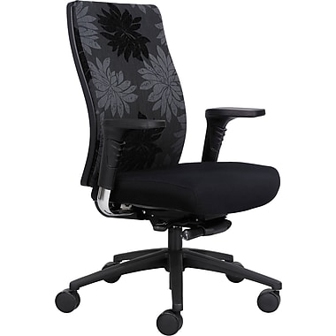 Safco® Bliss™ 7201 High Back Print Managers Chair, Black