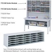 Safco® E-Z Sort® 7751 Sorter Module, Gray